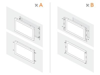 15 inch monitor metal
