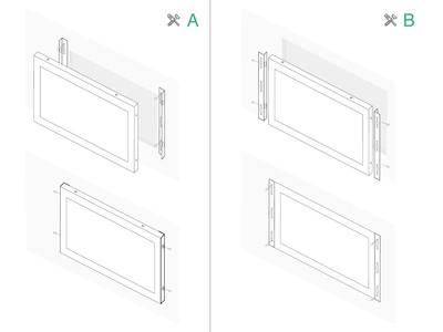 12 inch monitor metal (4:3)
