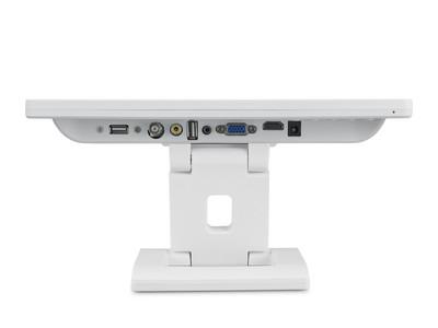12 inch touchscreen (white)