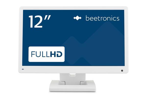 12 inch monitor (white)