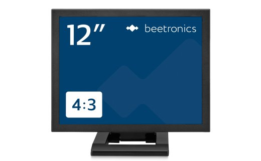 12 inch monitor metal (4:3)