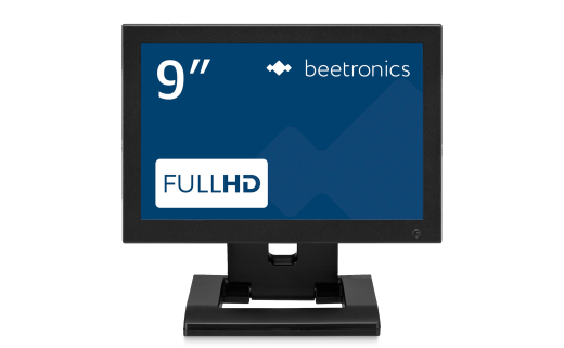 9 inch monitor metal
