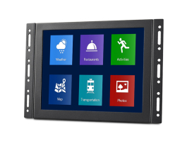 open frame flush mount touchscreen, open frame